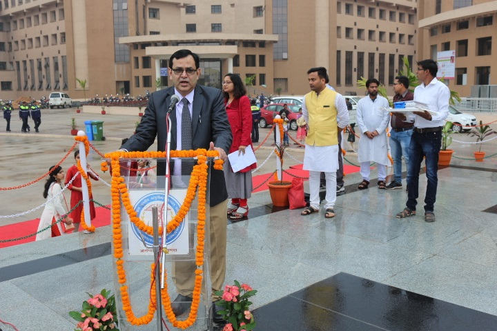 70th Republic Day celebration at AIIMS,Raipur- 2019
