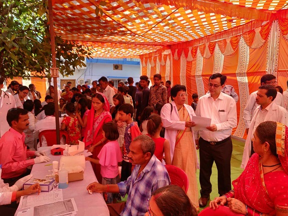 Health Camp organised on World Health Day