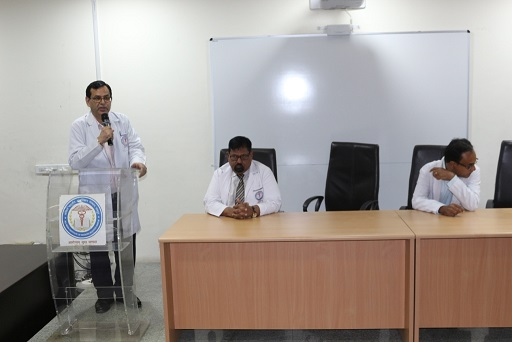 Interaction with MBBS 2019 batch students