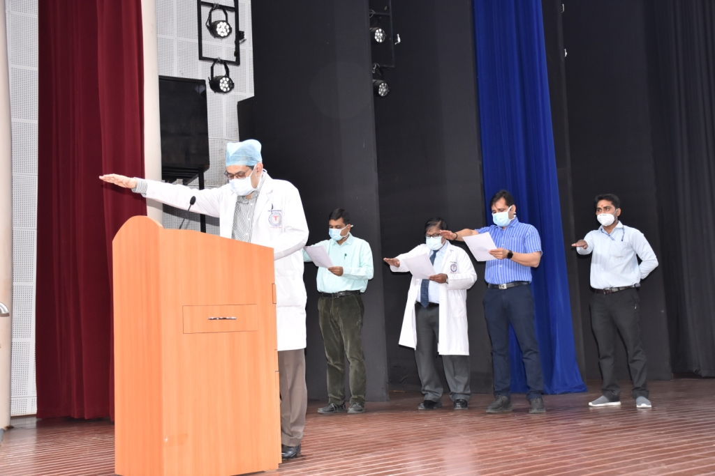 Observance of Swachhata Pakhwada from 1 st April to 15 th  April 2021 at AIIMS, Raipur